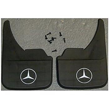 Rubber Moulded Universal Fit Car MUDFLAPS Mud Flaps Fits Mercedes Benz SLK