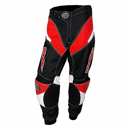 WinNet Pantaloni da Moto Cross Enduro Quad Off-Road