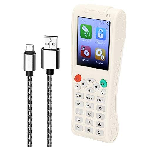 Ajcoflt Handheld-Schlüsselmaschine iCopy 5 mit vollständiger Dekodierungsfunktion Intelligente Kartenschlüsselmaschine RFI-D NFC-Kopierer IC/ID-Leser Writer Duplicator