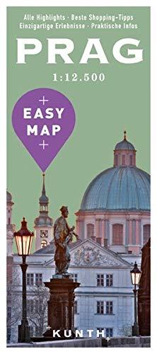 EASY MAP Europa PRAG: 1:12500 (KUNTH EASY MAP / Reisekarten)