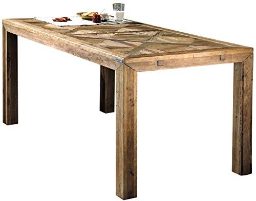 Mesa de comedor de madera Alte Guarnieri Olmo 140con Llano hecho de madera de olmo Alte