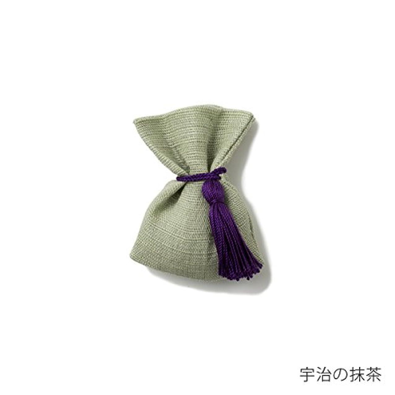 妖精耕すわがまま【薫玉堂】 京の香り 香袋 宇治の抹茶