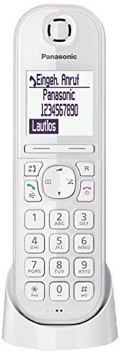 Panasonic KX-TGQ200GW DECT IP-Telefon, schnurlos, CAT-iq 2.0 kompatibel, digitales Telefon, weiß