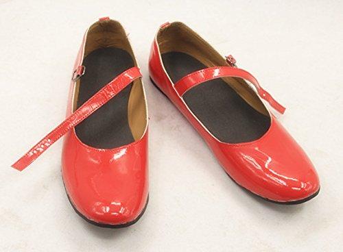 『美少女戦士セーラームーン 火野レイ コスプレ靴 ブーツ[オーダーメイド可] (25.0)』の1枚目の画像