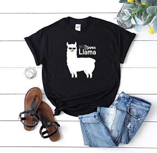 Cute Animal Alpaca Llama Toddler Baby Girl Ruffle Short Sleeve T-Shirt Soft Cotton T Shirts