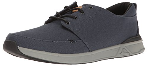Reef Herren Rover Low Sneaker, Navy/Grey Nag, 42 EU