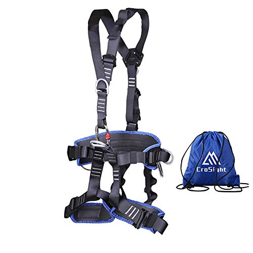 Climbing Harness Tree Climbing Gear - Half Body Climbing Saddle for Construction, Rappelling,Fire...