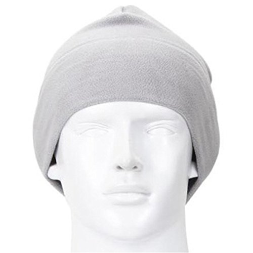 Queenbox® Mode Lässig Thermo Winterwärmer Fleece Strickmützen Cap Skull Beanies Snowboard für Mannfrauen-Kopfwärmer