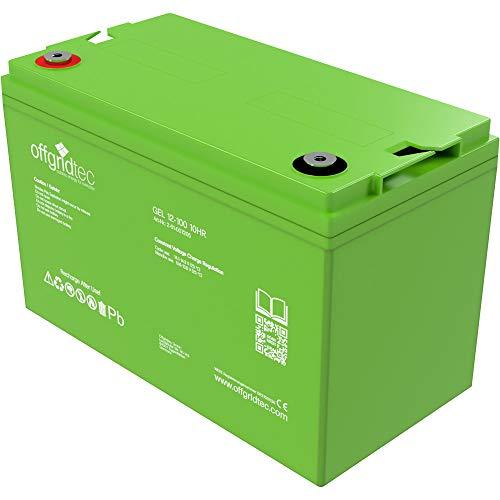 Offgridtec 100Ah C20 GEL Akku 12V Solarakku Batterie …