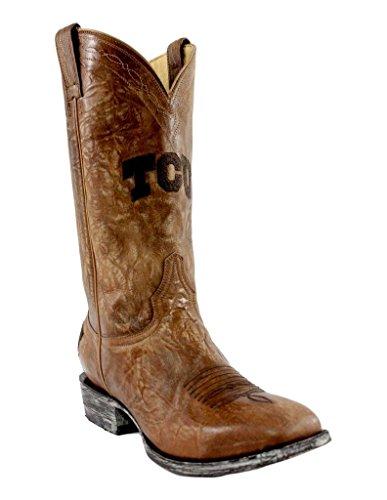 Gameday Boots NCAA TCU Horned Frogs Men's Sports Fan Footwear, Orix, 9.5 (M) US