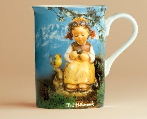My Home M. I. Hummel - Taza, diseño de niña enciana