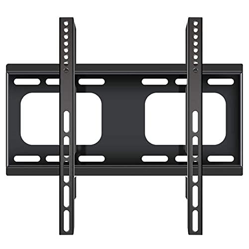 Equipo para el hogar Soporte para TV Soporte robusto de montaje en pared para TV para la mayoría de las pantallas de monitor de plasma LCD LED de 26 '65' hasta 400x400 mm y 40 kg de capacidad de ca