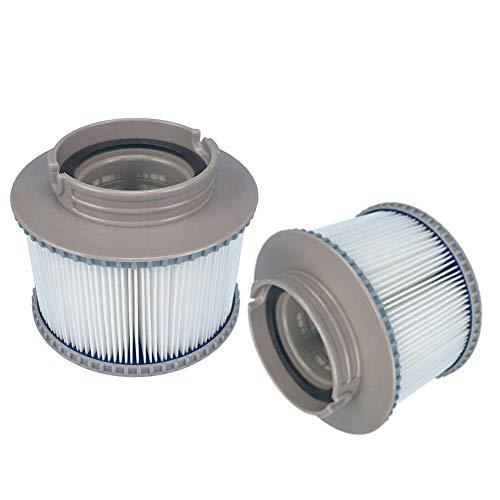 ConPush 1/2 / 4PCS MSPA FD2089 Filterpatronen Für Aufblasbaren Whirlpool Zubehör Outdoor Pool (2)