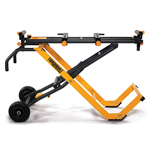 Product Image of the ToughBuilt - 10' Gravity Miter Saw Stand with Universal Tool Mounts - (TB-S600)