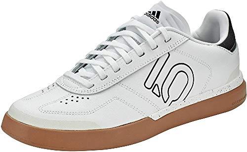 adidas Sleuth DLX, Zapatillas Deportivas Hombre, FTWR White/Core Black/Gum M2, 44 EU