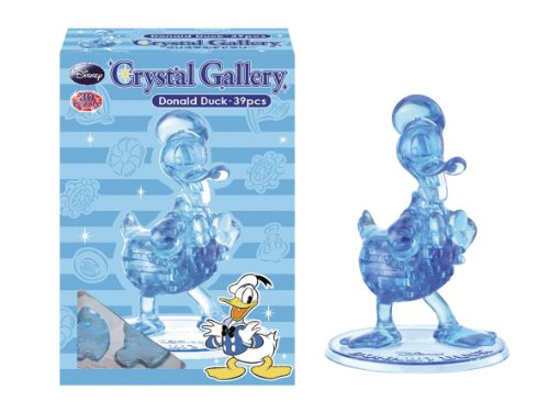 Crystal 3D Puzzle Disney Donald Duck (blue edition) (japan import)