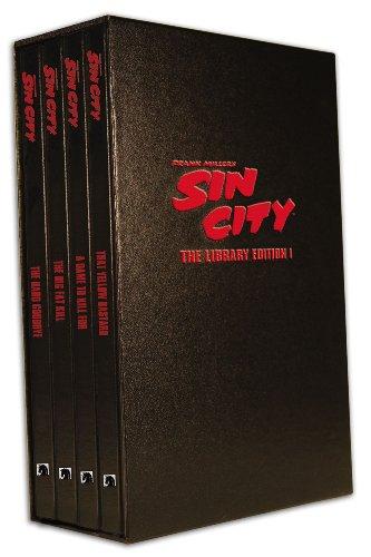 Sin City: The Frank Miller Library, Set I (Volumes 1-4) (v. 1)