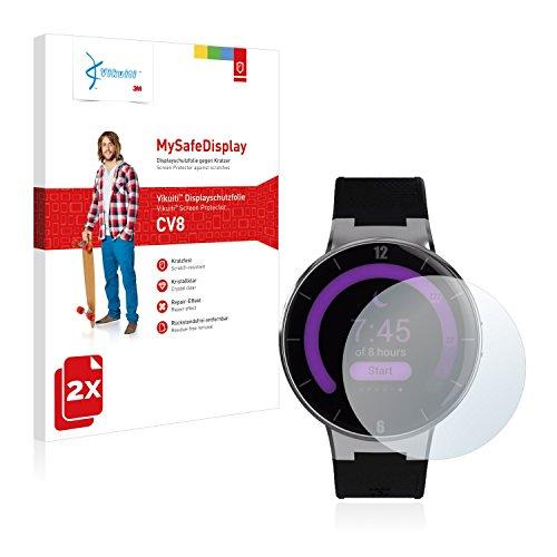 Vikuiti 2X Protector Pantalla CV8 de 3M Compatible con Alcatel One Touch Watch Película Protectora