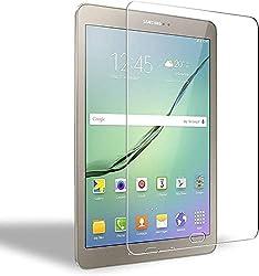 Samsung Galaxy Tab S3/S2 9.7 Protecteur d'écran en verre trempé: Spécialement conçu pour Samsung Galaxy Tab S3/S2 9.7'' Haute sensibilité et haute transparence: 99% de transparence permet à votre Samsung Galaxy Tab S3/S2 9.7'' original haute définiti...