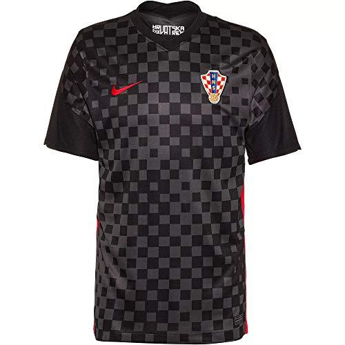 Nike Croatia Kroatien Trikot Away (L, Anthracite/Black)