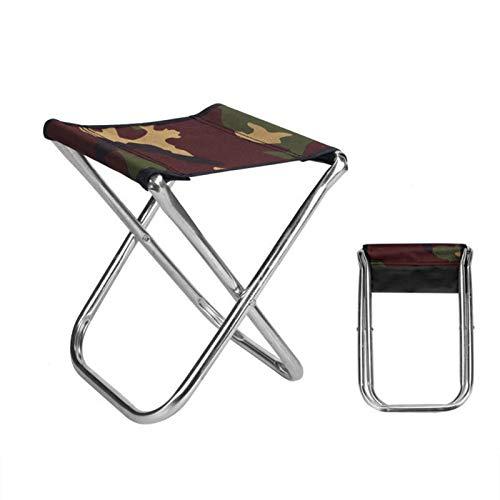 Mini Portable Folding Stool Ultra Light Outdoor Slacker Chair Hiking Fishing Camping Seat
