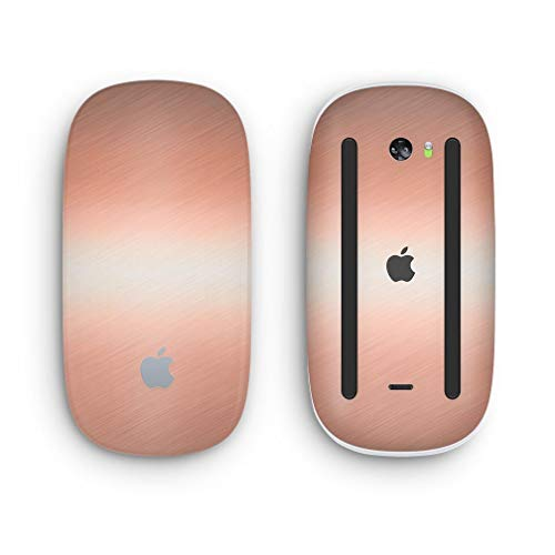 Design Skinz Premium Vinyl Decal for The Apple Magic Mouse 2 Wireless, Rechargable with Multi-Touch Surface Black /& Silver Marble Swirl V1