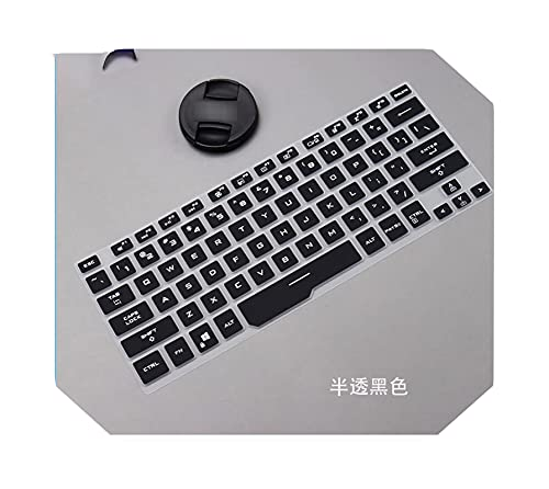 Funda protectora para ordenador portátil ASUS ROG Zephyrus G14 GA401 GA401ii GA401iv GA401iu de 14 pulgadas para juegos de ordenador portátil de silicona, color negro