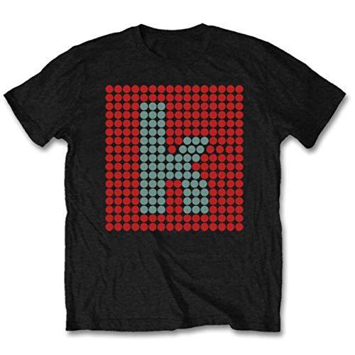 Bravado - Camiseta de The Killers para Hombre, Talla 43/44, Color Negro