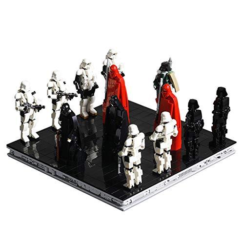 HARTI Bloques de construcción montados juguetes creativos, 1174PCS nuevo creador MOC llegada del modelo emperador kits de construcción de figuras de acción de película regalo para niños