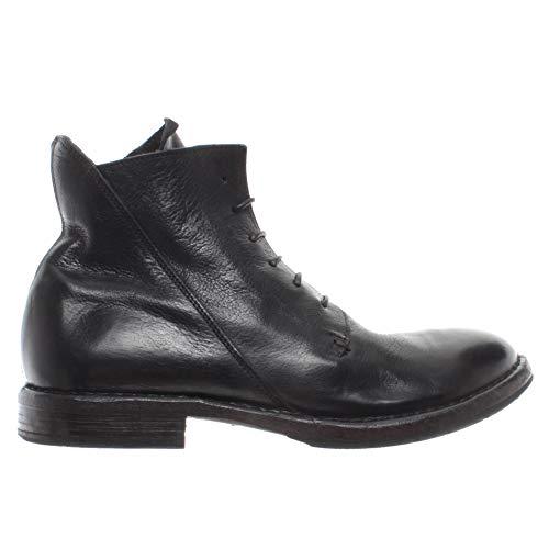 MOMA Herren Schuhe Stiefeletten 2CW082-CU Cusna Nero Leder Negro