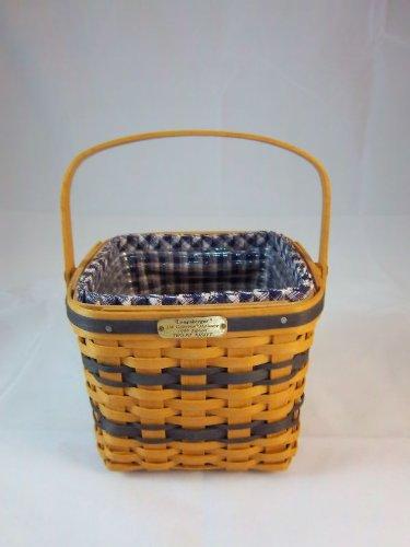 Longaberger 1999 J.W. Collection Miniature Edition Two Pie Basket