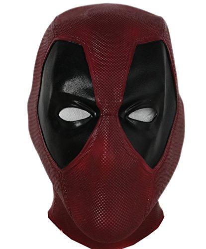 Halloween Mask Latex Head Face Helmet Movie DP Cosplay Costume Replica for Adult Men Fancy Dress Clothing Merchandise