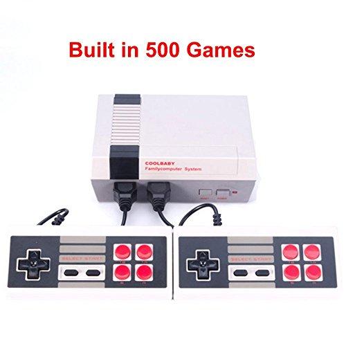 Mini console AV Retro Classic - dotata di due maniglie di controllo - videogiochi classici 500 incorporati