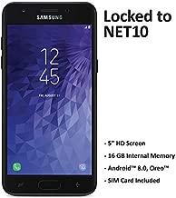 Net10 Samsung Galaxy J3 Orbit 4G LTE Prepaid Smartphone with $40 Airtime Bundle