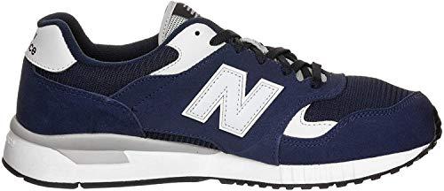 New Balance ML570 Sneaker Herren dunkelblau/weiß, 44 EU - 9.5 UK - 10 US