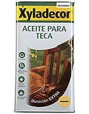 Xyladecor 5089083 teakolie, kleurloos, 5 l