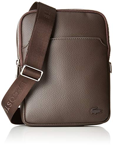 LacosteGael - Bolsa de Asa Superior Hombre, marrón (marrón (chocolate)), One Size