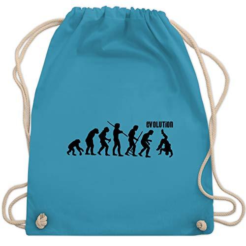 Evolution - Evolution Hip Hop - Unisize - Hellblau - hip bag - WM110 - Turnbeutel und Stoffbeutel aus Baumwolle