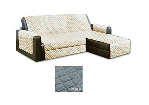 Menitashop - Funda para sofá con Chaise Longue de 3/4 plazas, Acolchada, Derecha e Izquierda