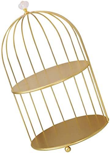 Multifunctional Cabilock Cuarto de baño Organizador de encimera 2 Nivel de metal Torta Soporte de pájaro Árbol de pájaro Pantalla Soporte Rack Aperitivo Bandejas de hierro Transporte Soporte Contador