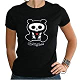 SKELANIMALS - T-Shirt CHUNGKEE Femme Black Basic (L) : TShirt , ML