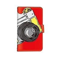 [bodenbaum] arrows Be F-05J 手帳型 スマホケース カード スマホ ケース カバー ケータイ 携帯 FUJITSU 富士通 アローズ ビー docomo カメラ a-258 (B.レッド)