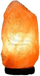 Lampara Mediana de Sal del Himalaya (2-3 kg) Con Bombilla incadescente incluida