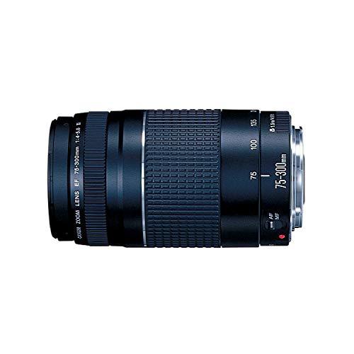Lente EF 75-300mm f/4-5.6 III, Canon, Preto