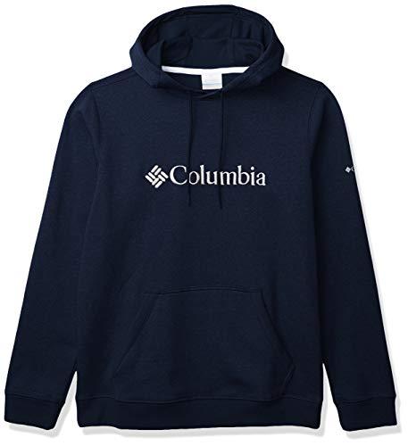 Columbia Herren CSC Basic Logo Ii Hoodie CSC Basic Logo II Hoodie, Herren, 1681661, Collegiate Navy/Weiß, XL