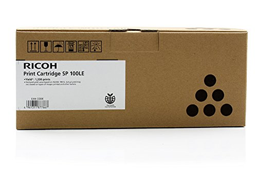 Original Ricoh 407166 Toner Black für Ricoh Aficio SP 112