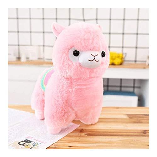 WJTMY Cuddly Lama-Alpaka-Puppe-weiche Baby-Plüschtiere Spielzeug Valentinstag Geburtstag Weihnachtsweihnachts Hochzeitstag Geschenke Geschenke (Color : B, Size : 35cm)