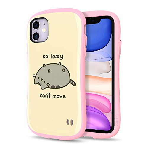 iFace x Pusheen The Cat First Class Series iPhone 11 Case – Cute Dual Layer [TPU and Polycarbonate] Hybrid Shockproof Protective Cover [Drop Tested] – Lazy Cat