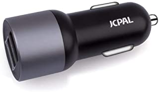 JCPal BOLT 30W Car Charger,Black