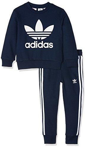 adidas Kinder Trefoil Trainingsanzug, Conavy/White, 122